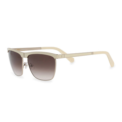 Balmain BL2043 UV2 Metal Frame Gradient Sunglasses in White