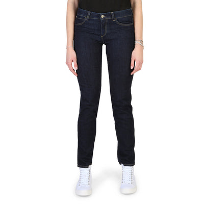 Armani Jeans - 3Y5J12_5D15Z Women's Regular Fit Jeans in Blue