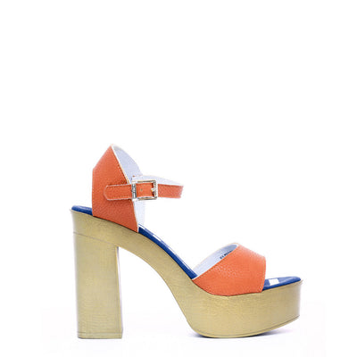 U.S. Polo - FAYE4026S8_Y1 Women's Sandals in Orange