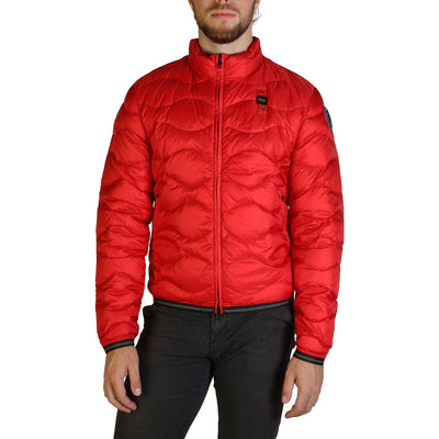 Blauer 3049 Padded & Quilted Jacket Red