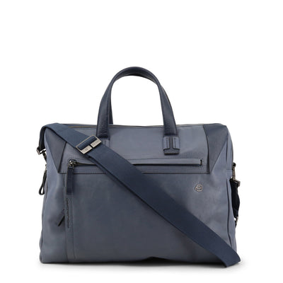 Piquadro CA4256S94 Leather Briefcase in Blue
