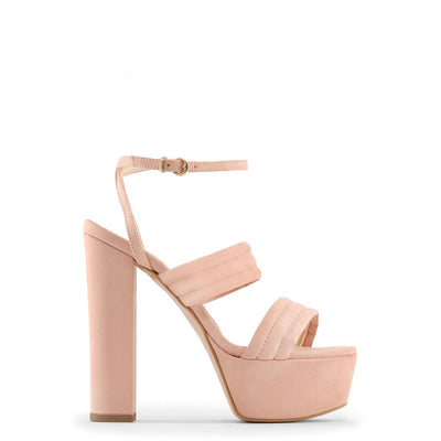 Made in Italia - FEDORA Block Heel Platform Sandals in Pink