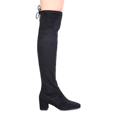 Fontana 2.0 SELLY Over The Knee Boots in Black