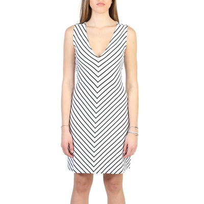 Armani Jeans - 3Y5A92_5JYAZ Sleeveless Midi Dress in White