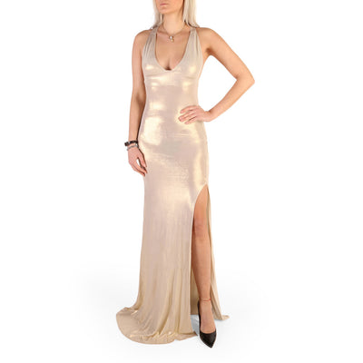 Guess - 72G750_6495Z Sleevless Maxi Dress in Yellow Gold