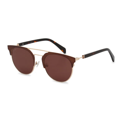 Balmain BL2109B UV3 Metal Frame Unisex Sunglasses in Brown