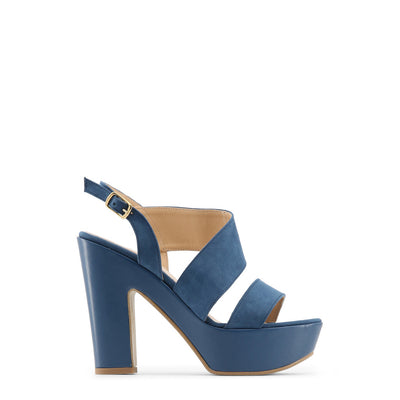 Made in Italia - FIAMMETTA Block Heel Platform Sandals in Blue