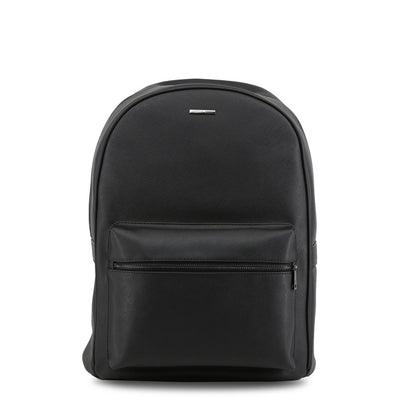 Armani Jeans Women's Faux Leather Backpack Black 932523_CD991