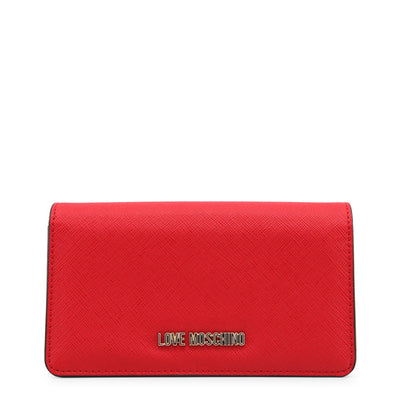 Love Moschino  JC5553PP16LQ Faux Leather Purse In Red