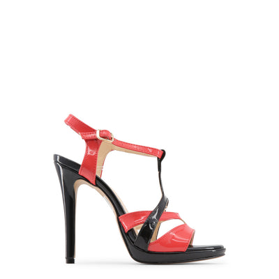 Made in Italia - IOLANDA High Heel Sandals in Black & Red
