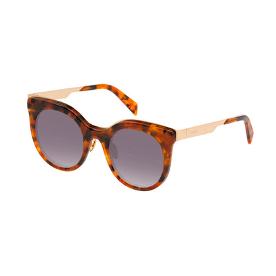 Balmain BL2119 UV2 Acetate Gradient Sunglasses in Brown