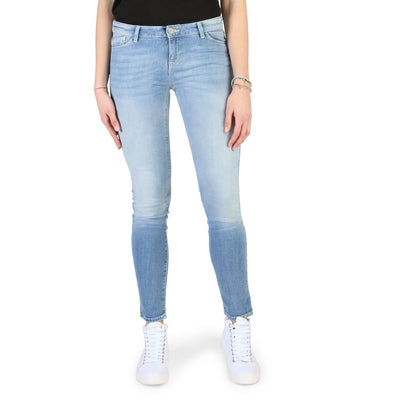 Armani Jeans - 3Y5J23_5D1EZ Women's Skinny Fit Jeans in Blue