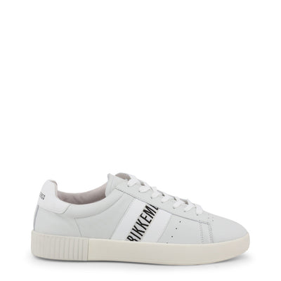 Bikkembergs COSMOS 2434 Leather Sneakers White