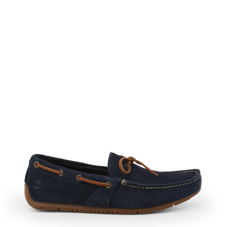 Timberland LEMANS Suede Moccasins Loafers in Navy Blue