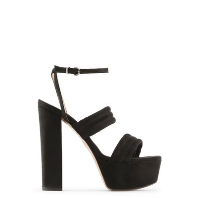 Made in Italia - FEDORA Block Heel Platform Sandals in Black