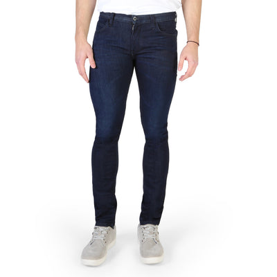 Armani Jeans - 3Y6J10_6D19Z Men's Slim Fit Jeans in Blue
