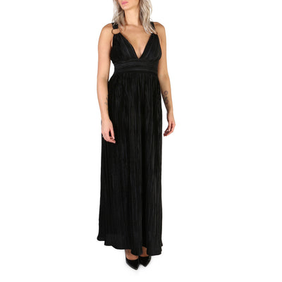 Guess - W84KG1_P3103 Sleeveless Maxi Dress in Black