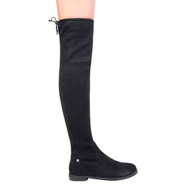 Laura Biagiotti 2259 Knee High Boots in Black