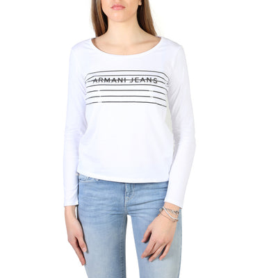 Armani Jeans - 3Y5T47_5JABZ Women's T-shirt in White