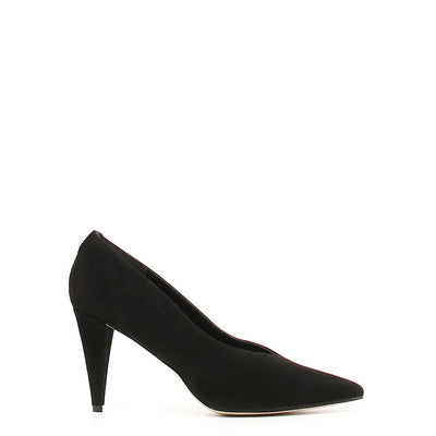 Guess FLBOI4SUE08 Leather Suede Pumps in Black