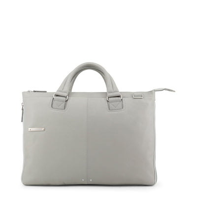 Piquadro CA4021X2 Leather Briefcase in Grey