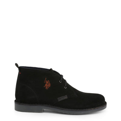 U.S. Polo Assn. - MUST3119S4_S19A Men's Lace Ankle Boots in Black