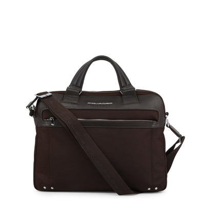 Piquadro CA3339LK Trolley Fitting Strap Briefcase in Brown