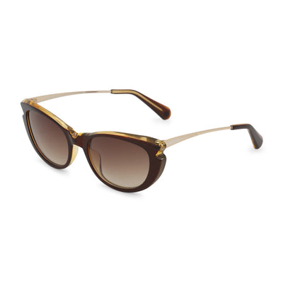 Balmain BL2023B UV2 Acetate Gradient Sunglasses in Brown