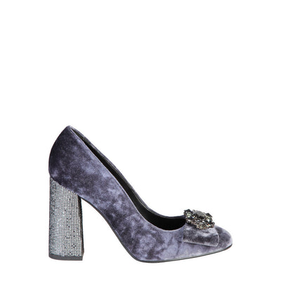 Fontana 2.0 CHRIS Block High Heel Shoes in Grey