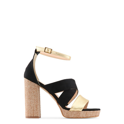 Made in Italia - OFELIA Block Heel Sandals in Black