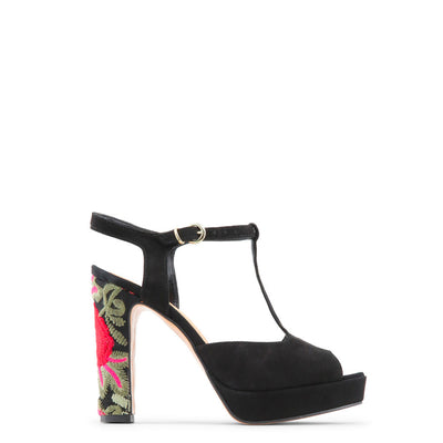 Made in Italia - ROSALINDA Block Heel Platform Sandals in Black