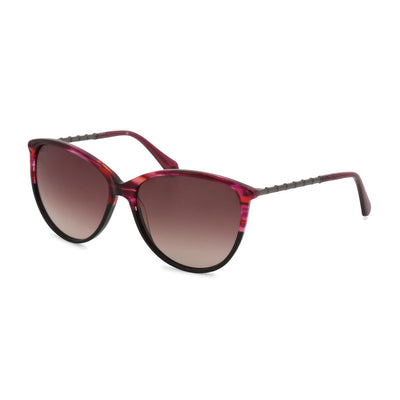 Balmain BL2085B UV3 Acetate Gradient Sunglasses in Violet