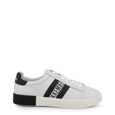Bikkembergs COSMOS 2434 Leather Sneakers Black/White