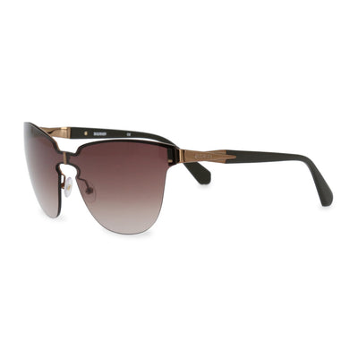 Balmain BL2055 UV3 Metal Frame Sunglasses in Brown