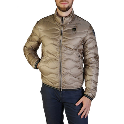 Blauer 3049 Padded & Quilted Jacket Brown