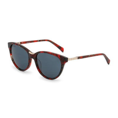 Balmain BL2100B UV3 Acetate Gradient Sunglasses in Red