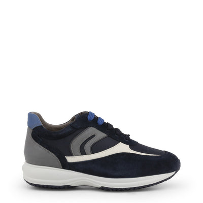 Geox HAPPY Breathable Cushioned Non-slip Sneakers Navy Blue