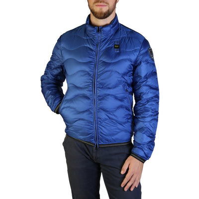 Blauer 3049 Padded & Quilted Jacket Blue
