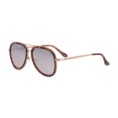 Guess GG1157 Mirrored Acetate Sunglasses in Brown