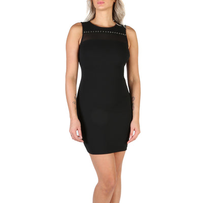 Guess - W84K79_K4YL0 Sleeveless Mini Dress in Black