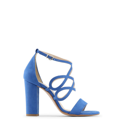 Made in Italia - CARINA Block Heel Sandals in Blue
