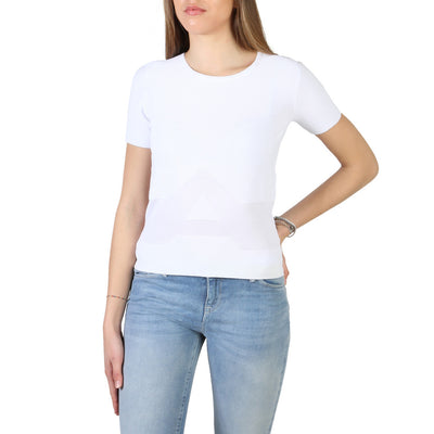 Armani Jeans - 3Y5M2L_5M22Z Women's T-shirt in White