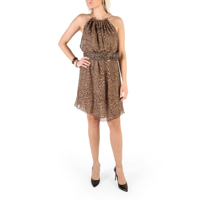 Guess - 82G785_8731Z Sleeveless Midi Dress in Brown