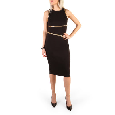 Guess - 72G726_6510Z Sleeveless Midi Dress in Black