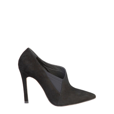 Fontana 2.0 MILU Leather High Stiletto Shoes in Black