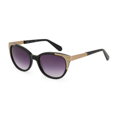 Balmain BL2072B UV3 Acetate Gradient Sunglasses in Black