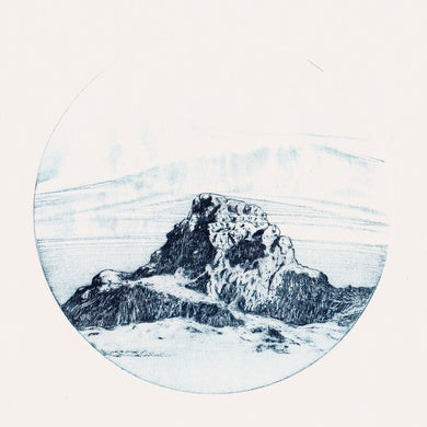 Orbs - Mountain blue