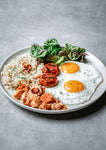 Meat & Eggs Plate: Salmon Tuyo