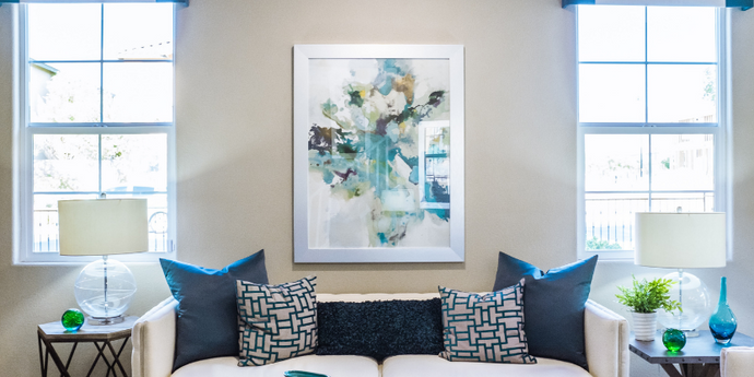 DIY Interior Design: Wall Prints for Living Room Walls