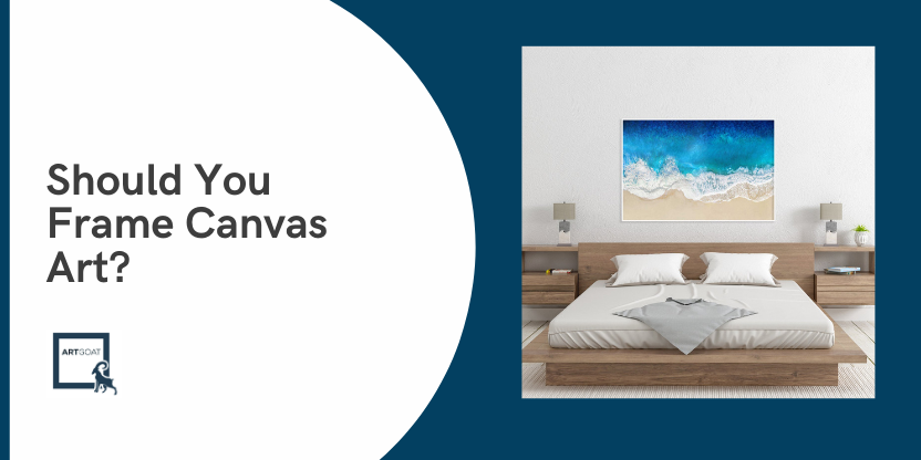 Should You Frame Canvas Art?